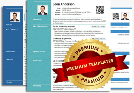 ShortLink display on premium cv
