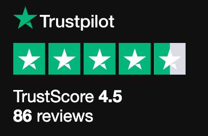 Responsive CV Trust Score @ TrustPilot
