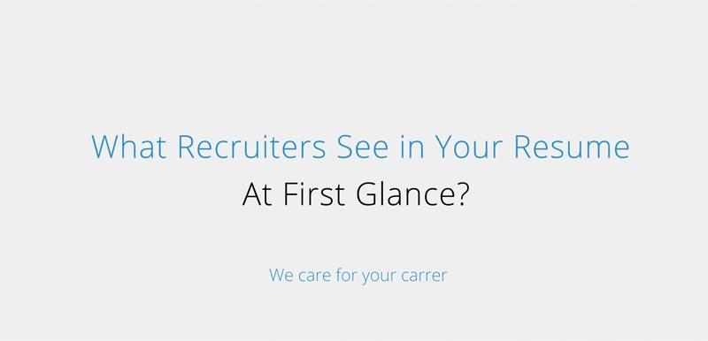 recruiters resume