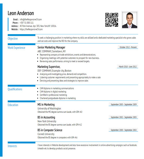 Create A Similar Resume Now  Create Resume Free