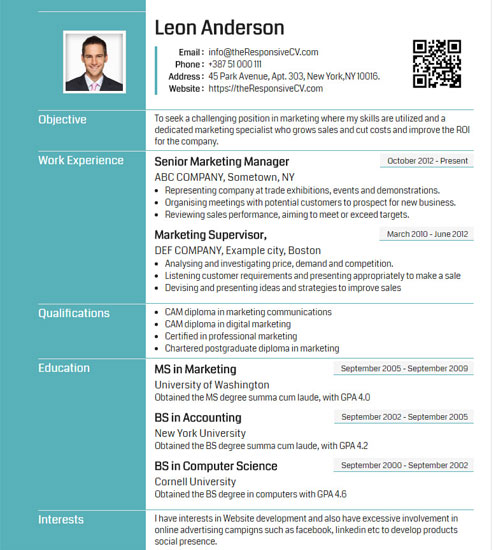 Griffy Resume Template