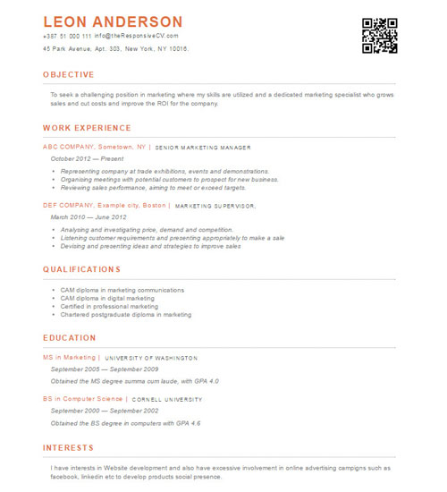 Material resume template import from linkedin and use for Import resume into template