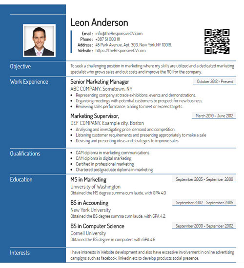 A simple 30 second process to create printable, shareable resume from linkedin