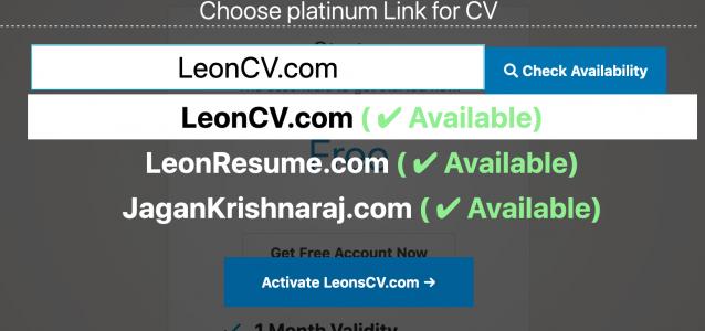 Change a domain name