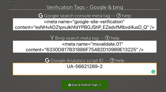 Submit cv link to google and bing search